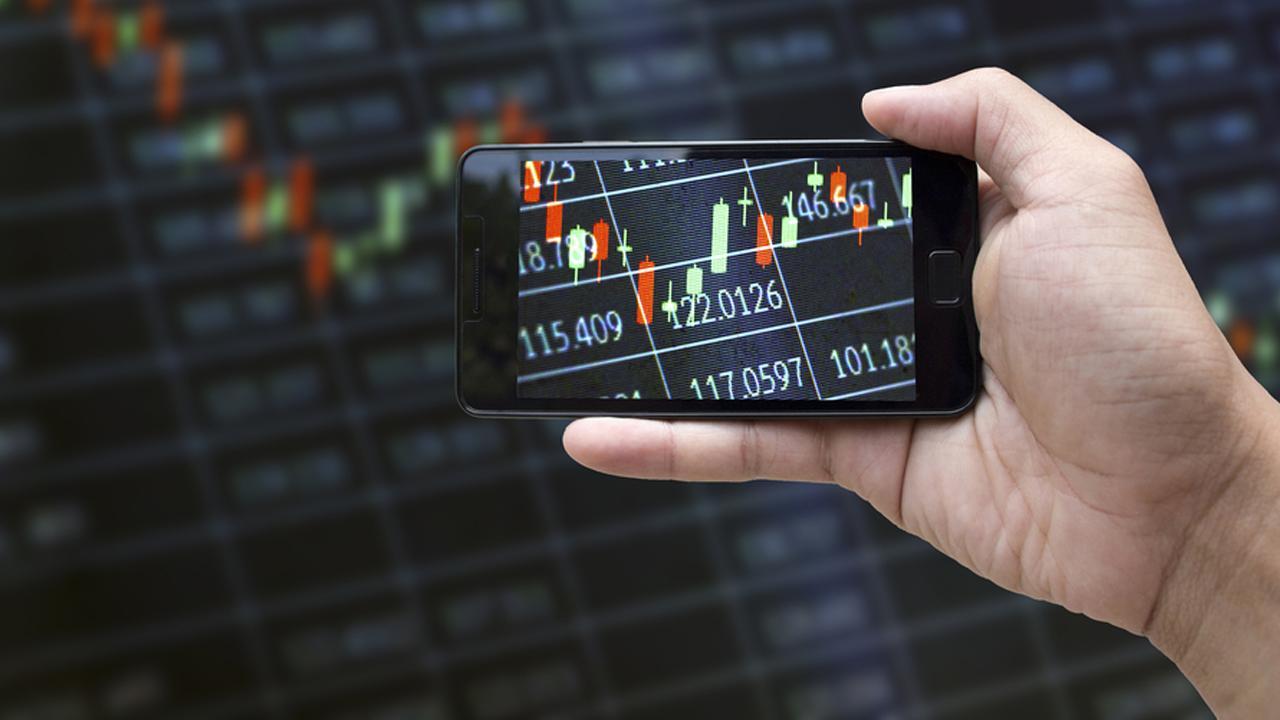 mobile app for online trading